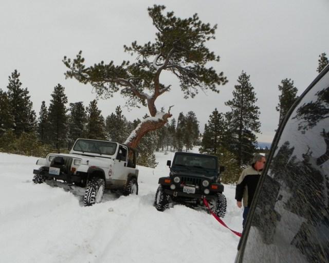 Peak Putters Cowiche Ridge Snow Wheeling 18