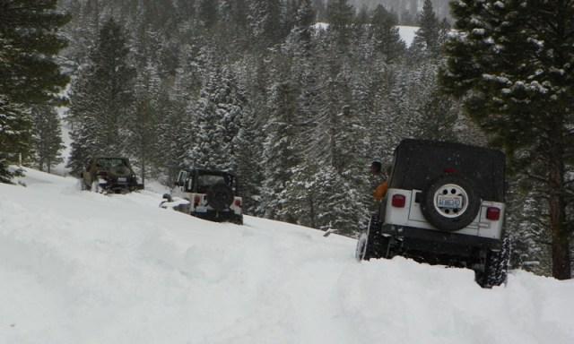 Peak Putters Cowiche Ridge Snow Wheeling 29