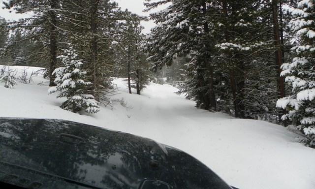 Peak Putters Cowiche Ridge Snow Wheeling 30