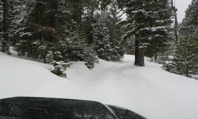 Peak Putters Cowiche Ridge Snow Wheeling 31