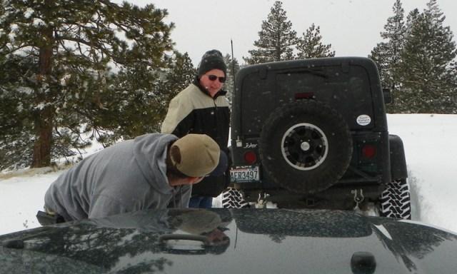 Peak Putters Cowiche Ridge Snow Wheeling 38