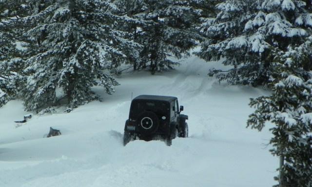 Peak Putters Cowiche Ridge Snow Wheeling 39
