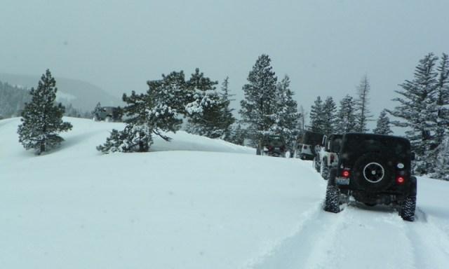 Peak Putters Cowiche Ridge Snow Wheeling 40
