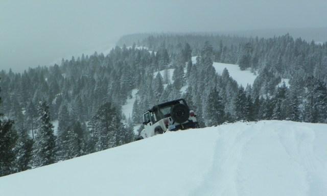 Peak Putters Cowiche Ridge Snow Wheeling 41