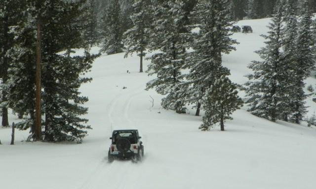 Peak Putters Cowiche Ridge Snow Wheeling 42