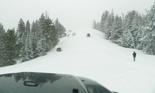 Peak Putters Cowiche Ridge Snow Wheeling 45