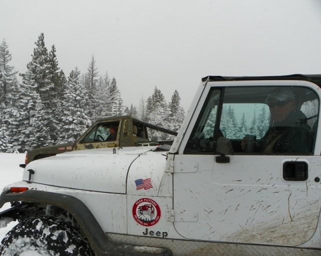 Peak Putters Cowiche Ridge Snow Wheeling 46
