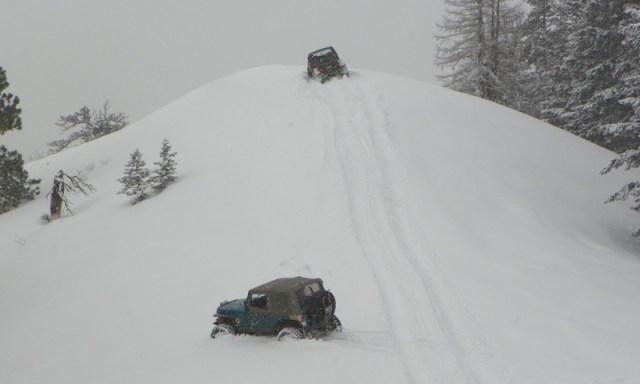 Peak Putters Cowiche Ridge Snow Wheeling 48