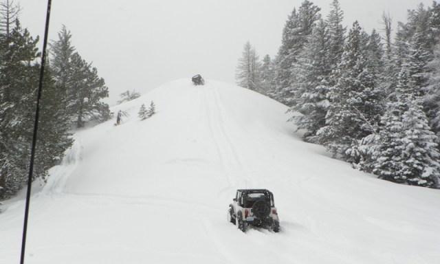 Peak Putters Cowiche Ridge Snow Wheeling 49