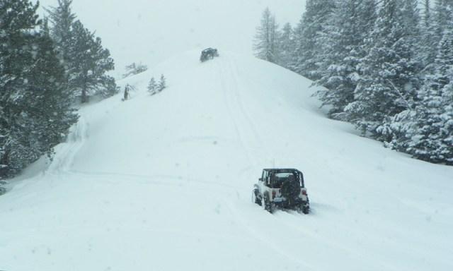 Peak Putters Cowiche Ridge Snow Wheeling 51