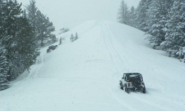 Peak Putters Cowiche Ridge Snow Wheeling 54