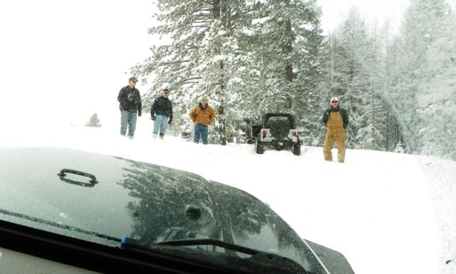 Peak Putters Cowiche Ridge Snow Wheeling 57