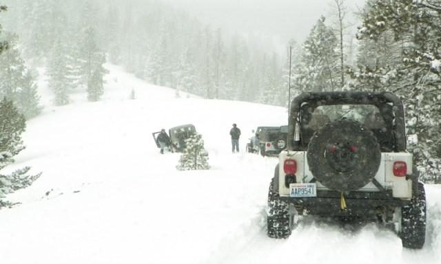 Peak Putters Cowiche Ridge Snow Wheeling 61