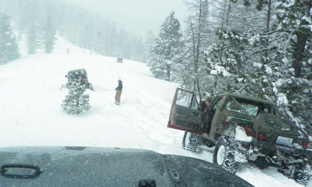 Peak Putters Cowiche Ridge Snow Wheeling 62