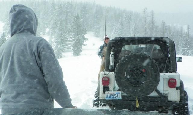 Peak Putters Cowiche Ridge Snow Wheeling 67