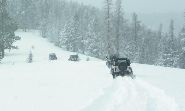 Peak Putters Cowiche Ridge Snow Wheeling 68