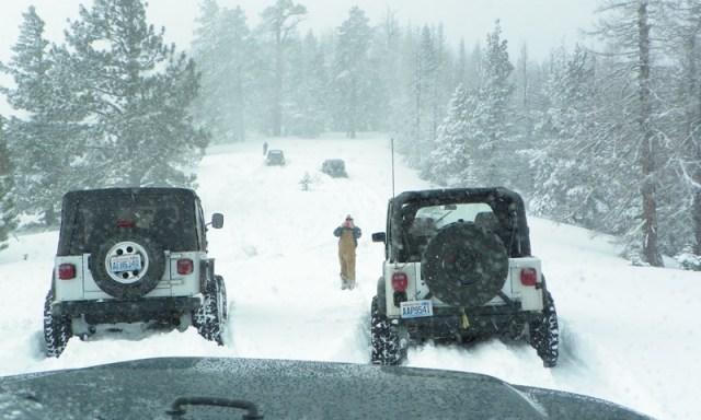 Peak Putters Cowiche Ridge Snow Wheeling 69
