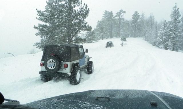 Peak Putters Cowiche Ridge Snow Wheeling 70