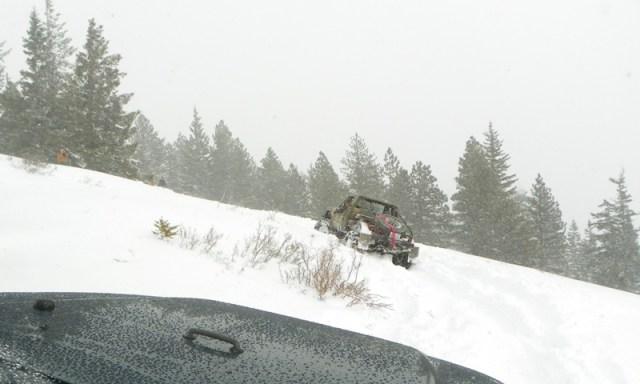 Peak Putters Cowiche Ridge Snow Wheeling 77
