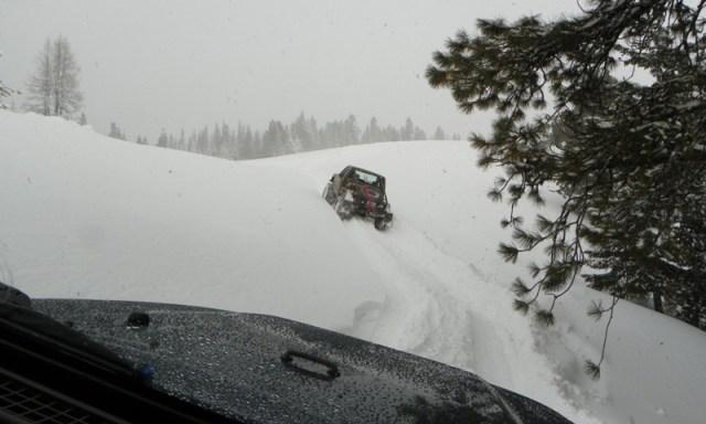 Peak Putters Cowiche Ridge Snow Wheeling 80