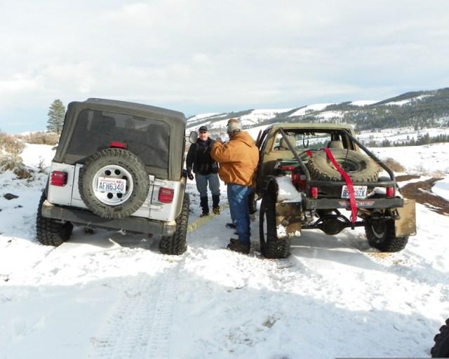 Peak Putters Cowiche Ridge Snow Wheeling 85