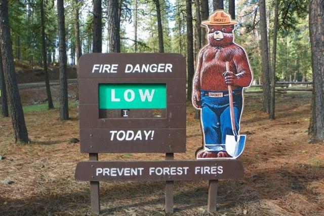 Wildfire Awareness Week: Ahtanum Campground 1
