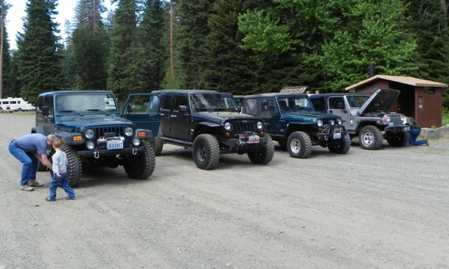 Memorial Day 4×4 Snow Run at the Ahtanum State Forest 1