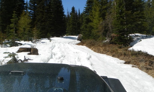 Memorial Day 4×4 Snow Run at the Ahtanum State Forest 14