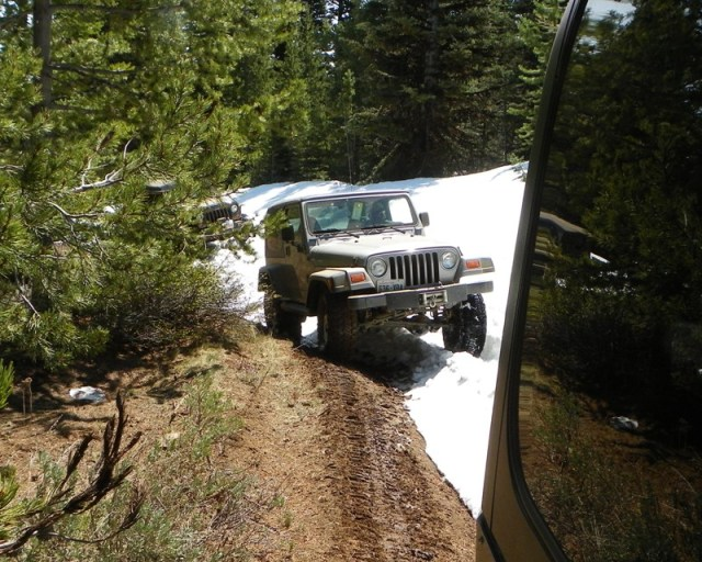 Memorial Day 4×4 Snow Run at the Ahtanum State Forest 15