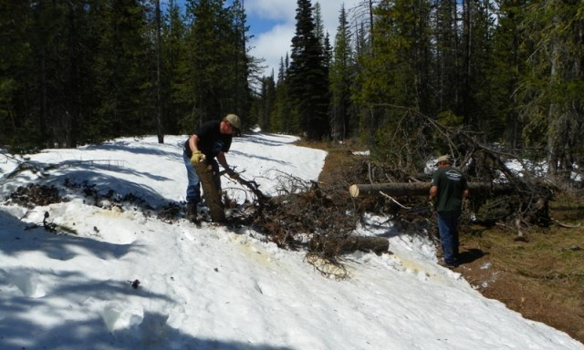 Memorial Day 4×4 Snow Run at the Ahtanum State Forest 20