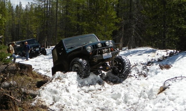 Memorial Day 4×4 Snow Run at the Ahtanum State Forest 26