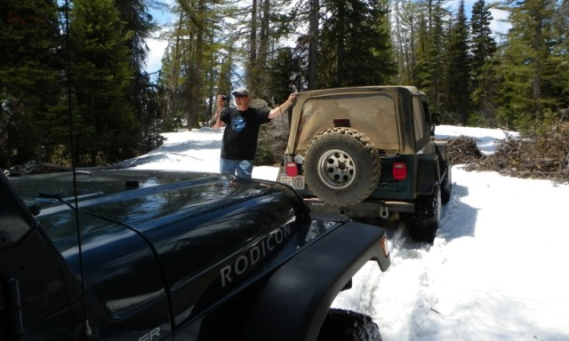 Memorial Day 4×4 Snow Run at the Ahtanum State Forest 32