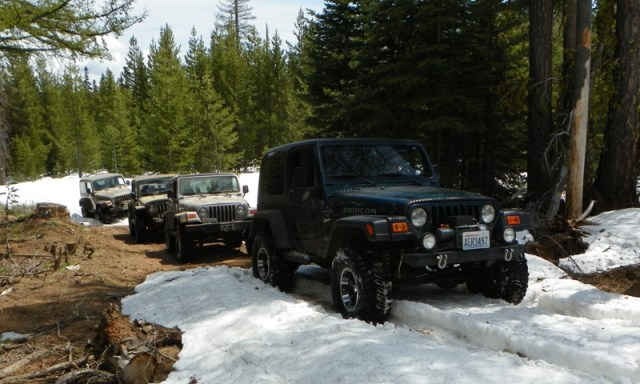 Memorial Day 4×4 Snow Run at the Ahtanum State Forest 35