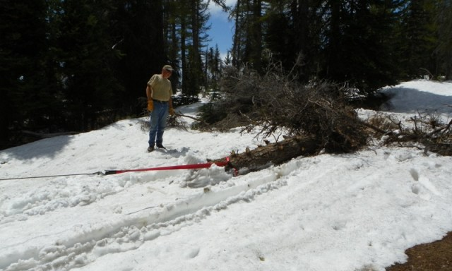 Memorial Day 4×4 Snow Run at the Ahtanum State Forest 36