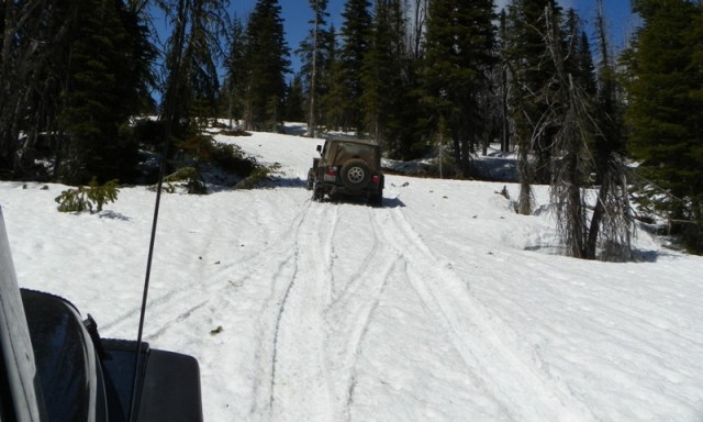 Memorial Day 4×4 Snow Run at the Ahtanum State Forest 49