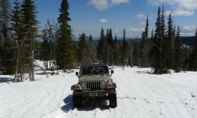 Memorial Day 4×4 Snow Run at the Ahtanum State Forest 50