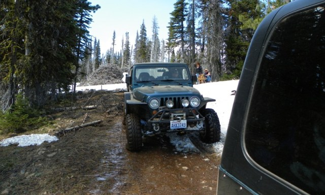 Memorial Day 4×4 Snow Run at the Ahtanum State Forest 54