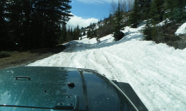 Memorial Day 4×4 Snow Run at the Ahtanum State Forest 57
