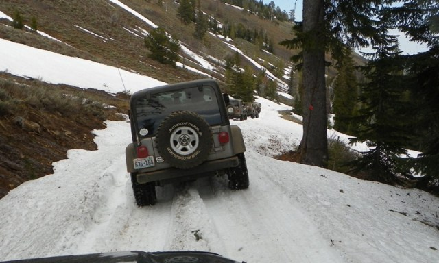 Memorial Day 4×4 Snow Run at the Ahtanum State Forest 67