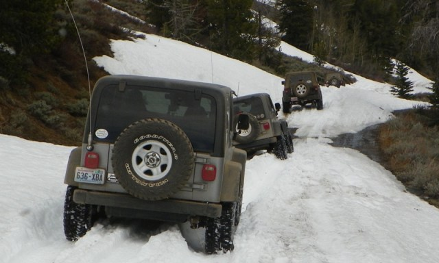 Memorial Day 4×4 Snow Run at the Ahtanum State Forest 68