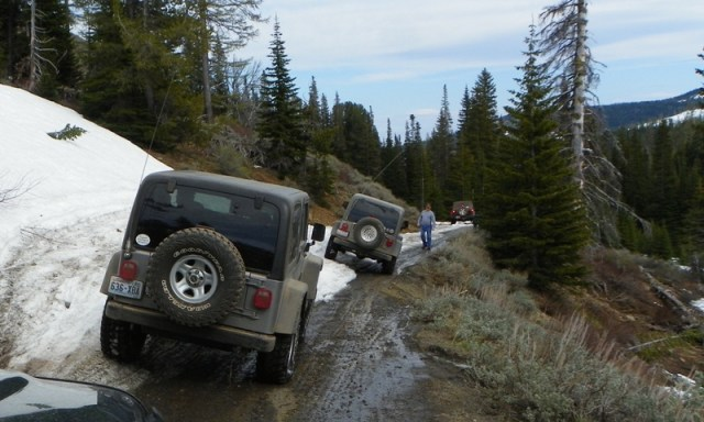 Memorial Day 4×4 Snow Run at the Ahtanum State Forest 71