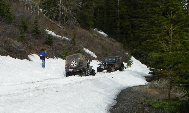 Memorial Day 4×4 Snow Run at the Ahtanum State Forest 74