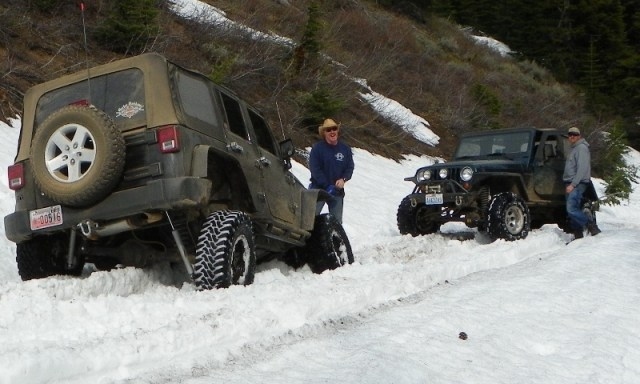 Memorial Day 4×4 Snow Run at the Ahtanum State Forest 75