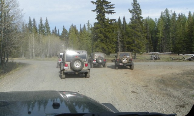 Memorial Day 4×4 Snow Run at the Ahtanum State Forest 79