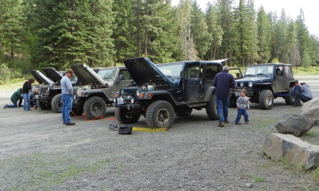 Memorial Day 4×4 Snow Run at the Ahtanum State Forest 81