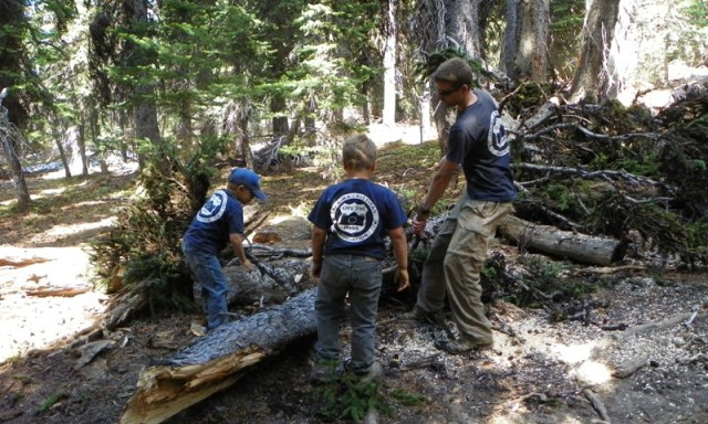 2012 Ahtanum State Forest Camp-out & Clean-up 19