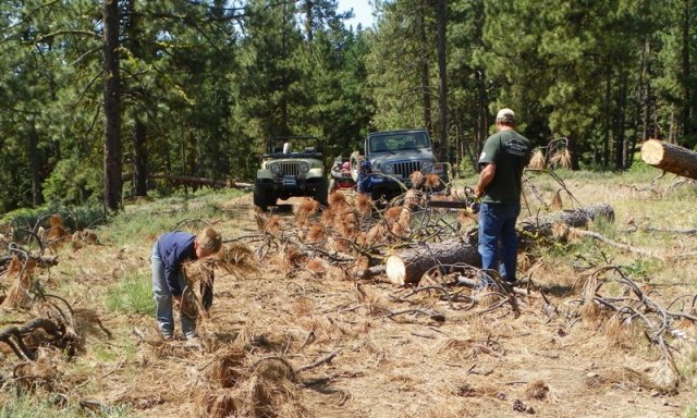 2012 Ahtanum State Forest Camp-out & Clean-up 58