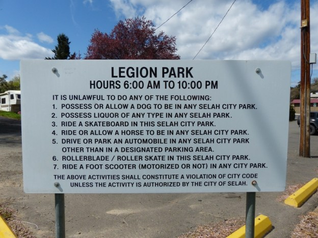 Selah Legion Park