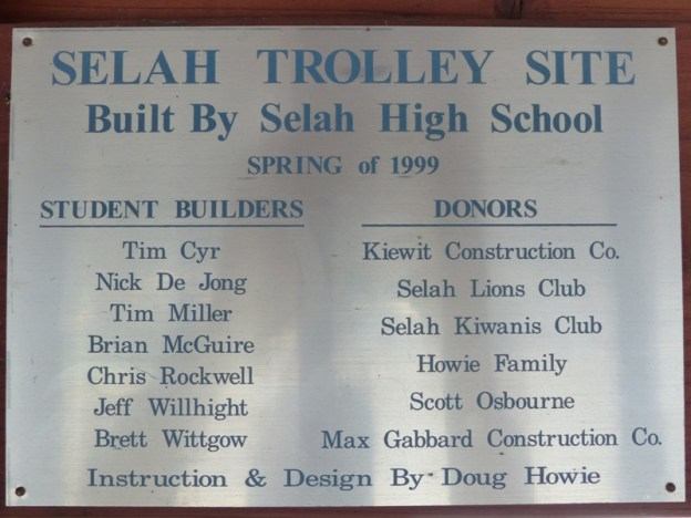 Selah Trolley Park