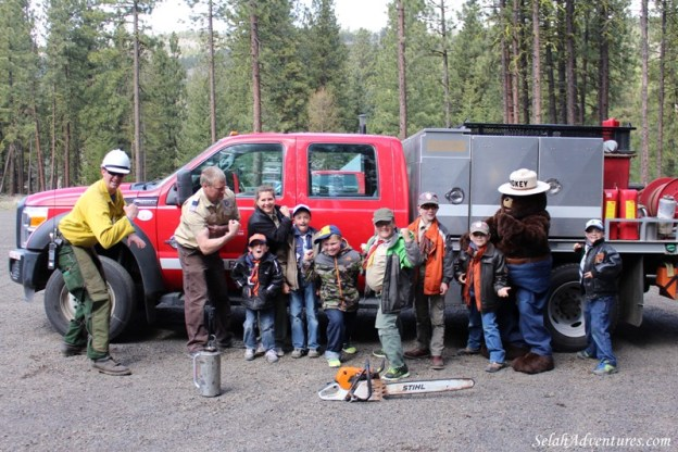 Cub Scout Wildfire Awareness